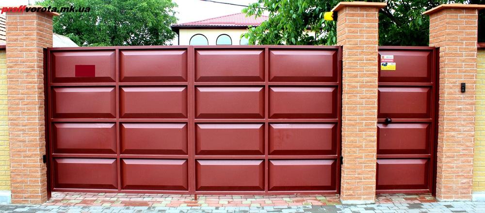 въездные ворота купить в днепропетровске